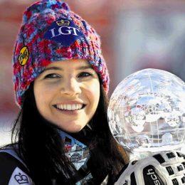 Alpska smučarka in olimpijska medalistka
